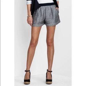 BcbgMaxazria Striped High Waist Shorts